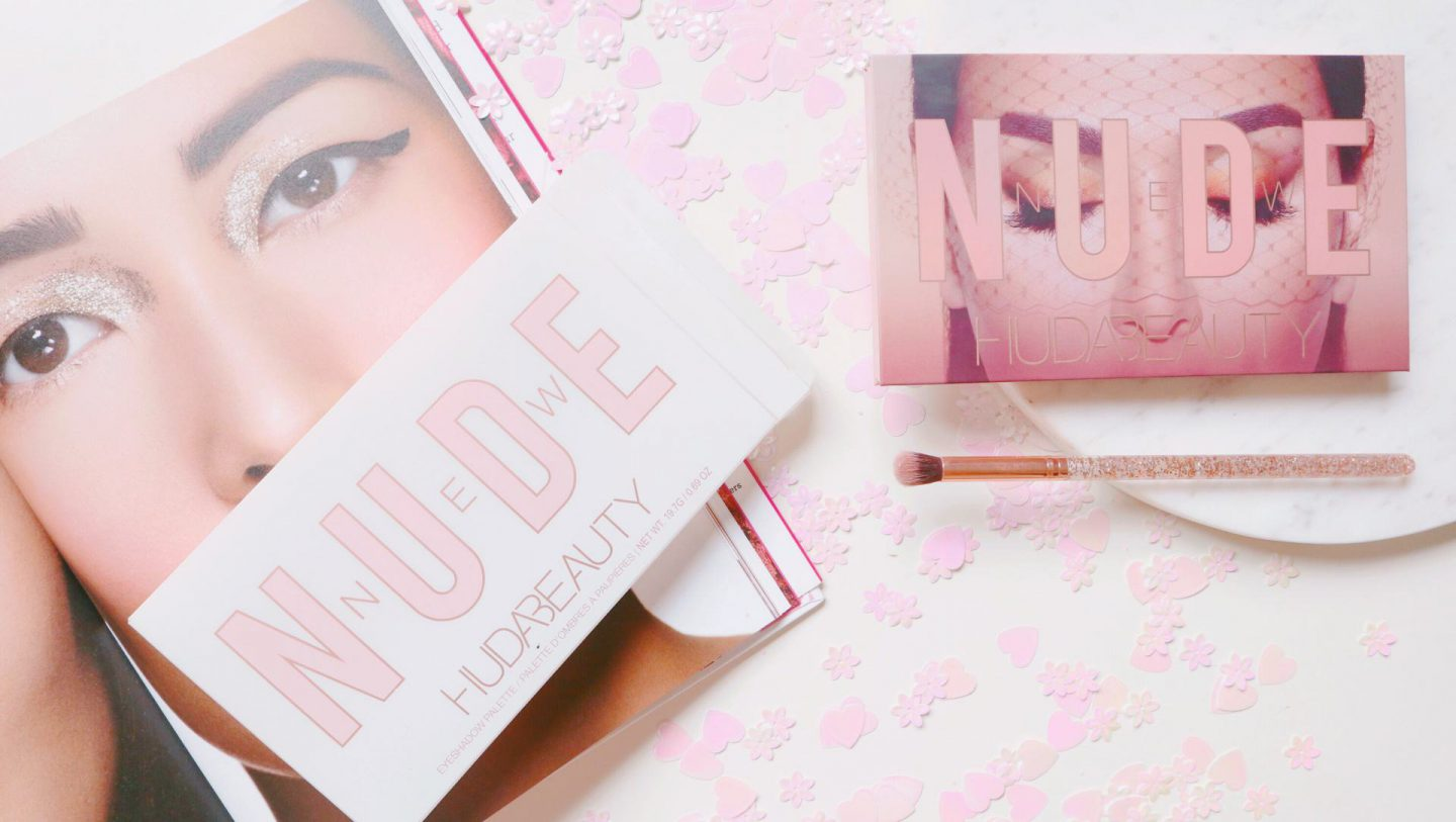 Huda beauty – New Nude eyeshadow palette.